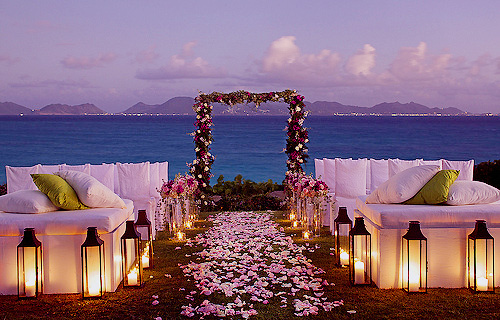 Night Beach Wedding Ideas Www Pixshark Com Images